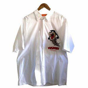History Iceberg Tazmanian Devil Embroidered Shirt